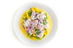Salada deliciosa de Rucola Imagens de Stock Royalty Free