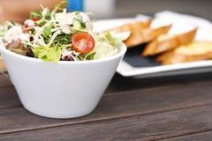 Salada deliciosa do jardim Foto de Stock Royalty Free
