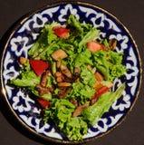 Salada deliciosa do marisco Imagens de Stock