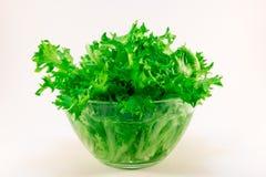 Salada deliciosa na placa Imagens de Stock