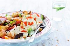 Salada deliciosa saudável Fotografia de Stock