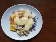 Salada do ‹do fruit†do ‹do and†do ‹de Vegetable†fotografia de stock