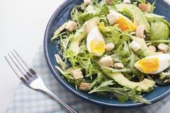 Salada do abacate Imagens de Stock Royalty Free