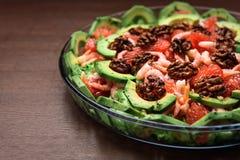 Salada do abacate Fotografia de Stock Royalty Free
