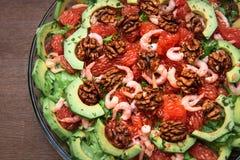 Salada do abacate Imagem de Stock