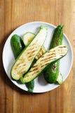 Salada do abobrinha Imagem de Stock