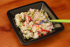 Salada do arroz fotografia de stock royalty free