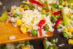 Salada do arroz Fotografia de Stock