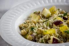 Salada do arroz Imagens de Stock