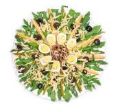 Salada do aspargo Imagem de Stock Royalty Free