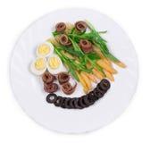 Salada do aspargo Imagens de Stock