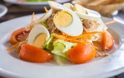 Salada do atum Foto de Stock Royalty Free