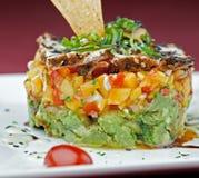 Salada do atum do gourmet imagem de stock
