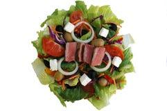 Salada do bife Imagens de Stock