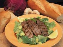 Salada do bife Imagem de Stock Royalty Free