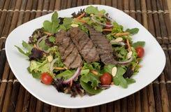 Salada do bife de Teriyaki Imagens de Stock