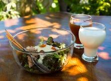 Salada do café da manhã Imagens de Stock