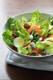 Salada do camarão do legume fresco foto de stock