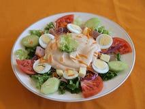 Salada do cozinheiro chefe Imagens de Stock Royalty Free