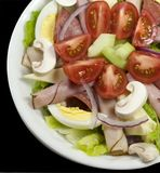 Salada do cozinheiro chefe Imagem de Stock