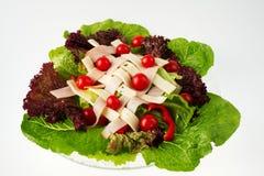 Salada do cozinheiro chefe - vista 4 imagem de stock royalty free