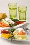 Salada do Crudites. Fotos de Stock