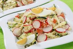 Salada do cuscuz Imagem de Stock