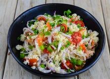 Salada do cuscuz imagens de stock royalty free