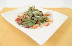Salada do espinafre Imagens de Stock