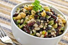 Salada do feijão imagem de stock royalty free
