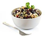 Salada do feijão imagens de stock