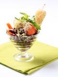 Salada do feijão imagens de stock royalty free