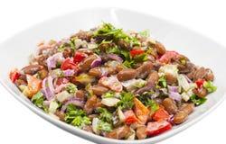 Salada do feijão Fotografia de Stock