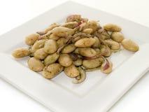 Salada do feijão branco Imagem de Stock