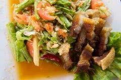 Salada do feijão de Yardlong Foto de Stock