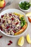 Salada do feijão-roxo Imagens de Stock Royalty Free