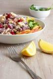 Salada do feijão-roxo Fotografia de Stock