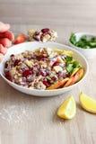 Salada do feijão-roxo Foto de Stock Royalty Free