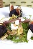 Salada do figo Imagens de Stock Royalty Free