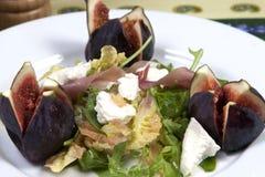 Salada do figo Fotografia de Stock Royalty Free