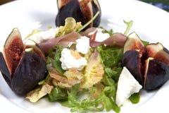 Salada do figo Fotos de Stock Royalty Free