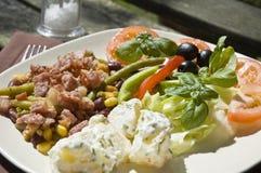 Salada do fresco do Al Imagem de Stock Royalty Free
