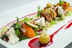 Salada do gourmet do close-up Foto de Stock