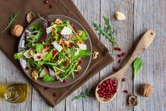 Salada do legume fresco com rucola Imagens de Stock Royalty Free