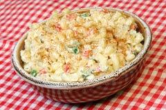 Salada do macarrão Fotografia de Stock Royalty Free