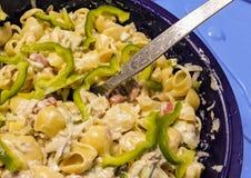Salada do macarronete Imagens de Stock Royalty Free