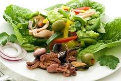 Salada do marisco Imagens de Stock