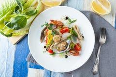 Salada do marisco Fotos de Stock