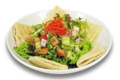 Salada do Oriente Médio de Fattouch Imagem de Stock Royalty Free