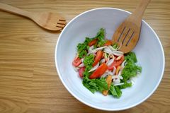 Salada do ovo Imagem de Stock Royalty Free